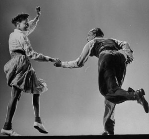Original swing dancers Willa Mae Ricker & Leon James