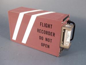 black-box-airplane saturated