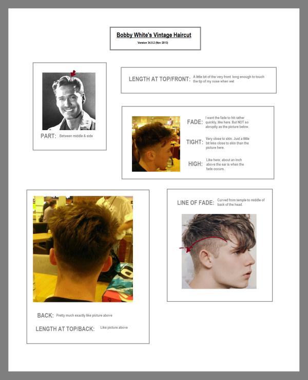 Bobby's haricut profile