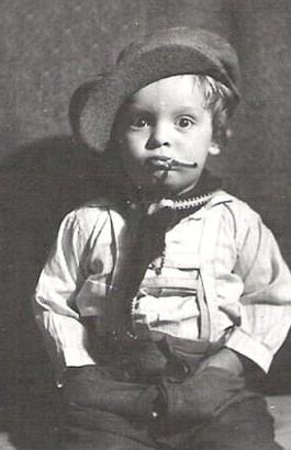 little boy cigarette