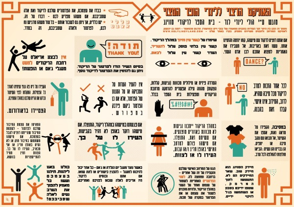 Hebrew ettiquette post