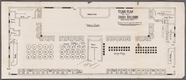 Savoy floor plan