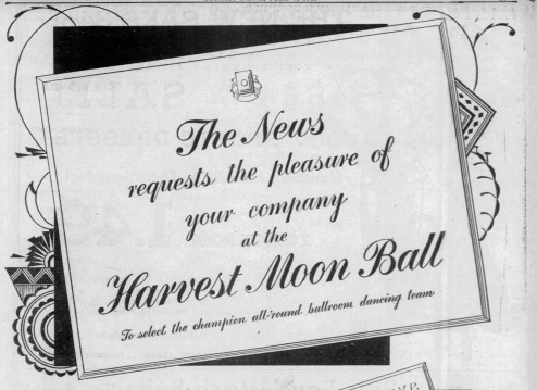 1935 First announcement Graphic