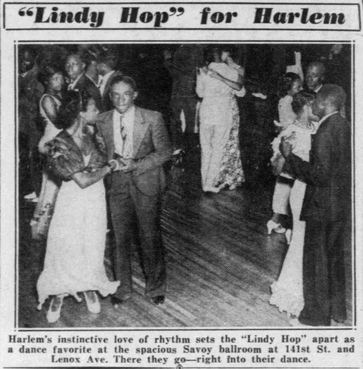 1935 randomn Lindy Hop picture before announcement
