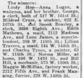 FINALIST CLIP Savoy prelim clip Daily_News_Sat__Aug_10__1935_