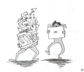 Pan style illustration III