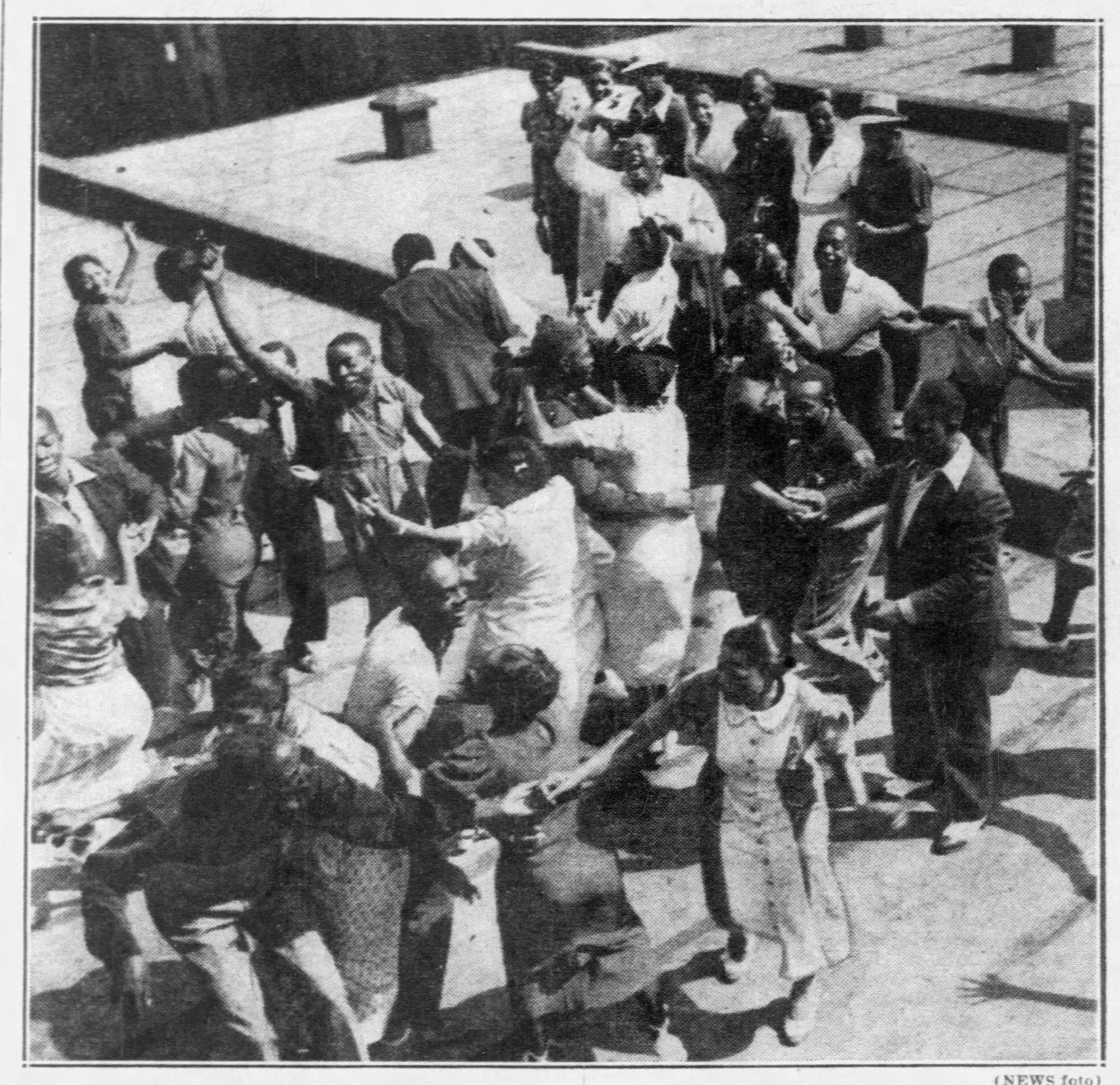 1937 Practicing on roof of savoy Daily_News_Sat__Jul_24__1937_