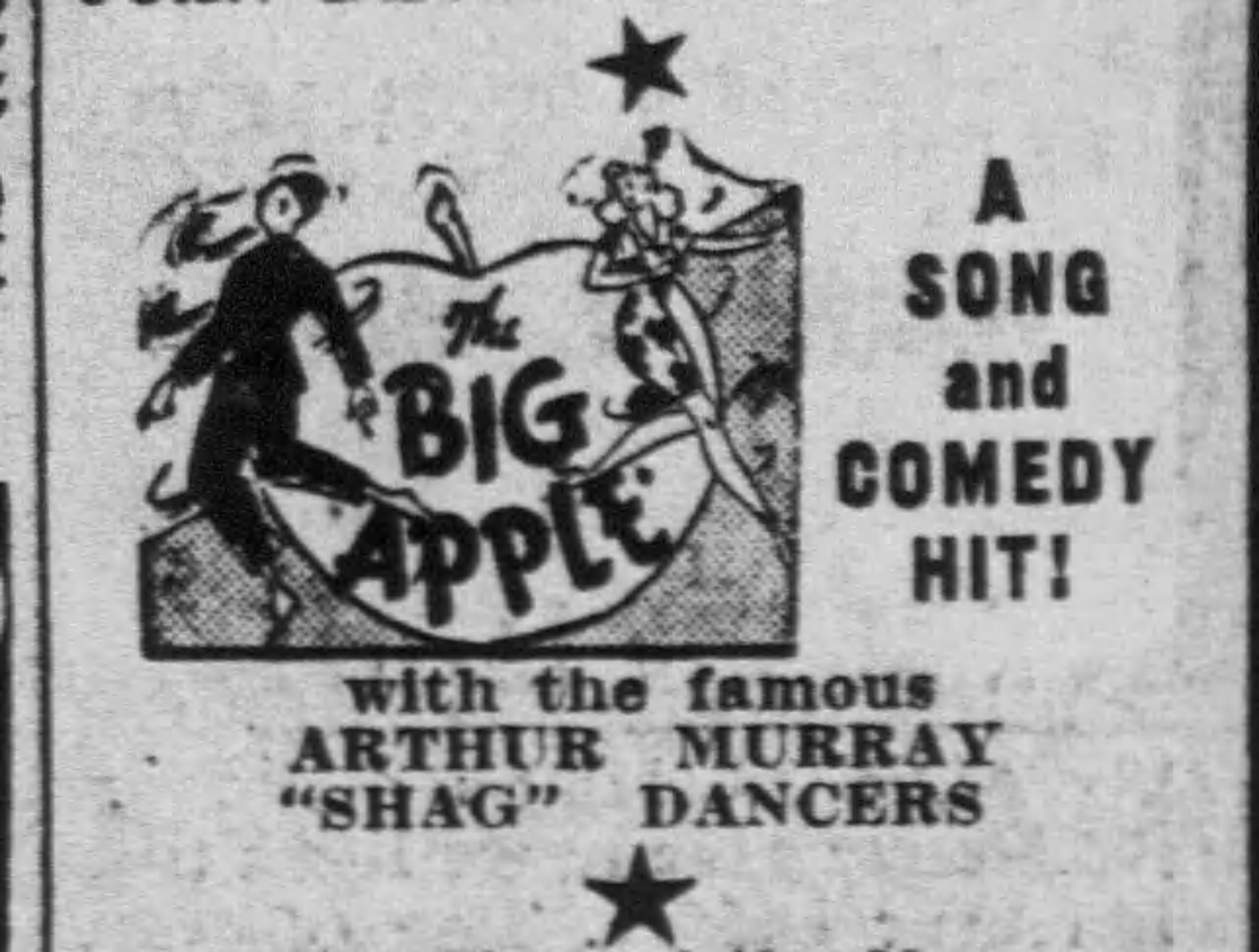 1937 Shag dancers do big apple film Richmond_Times_Dispatch_Tue__Oct_5__1937_
