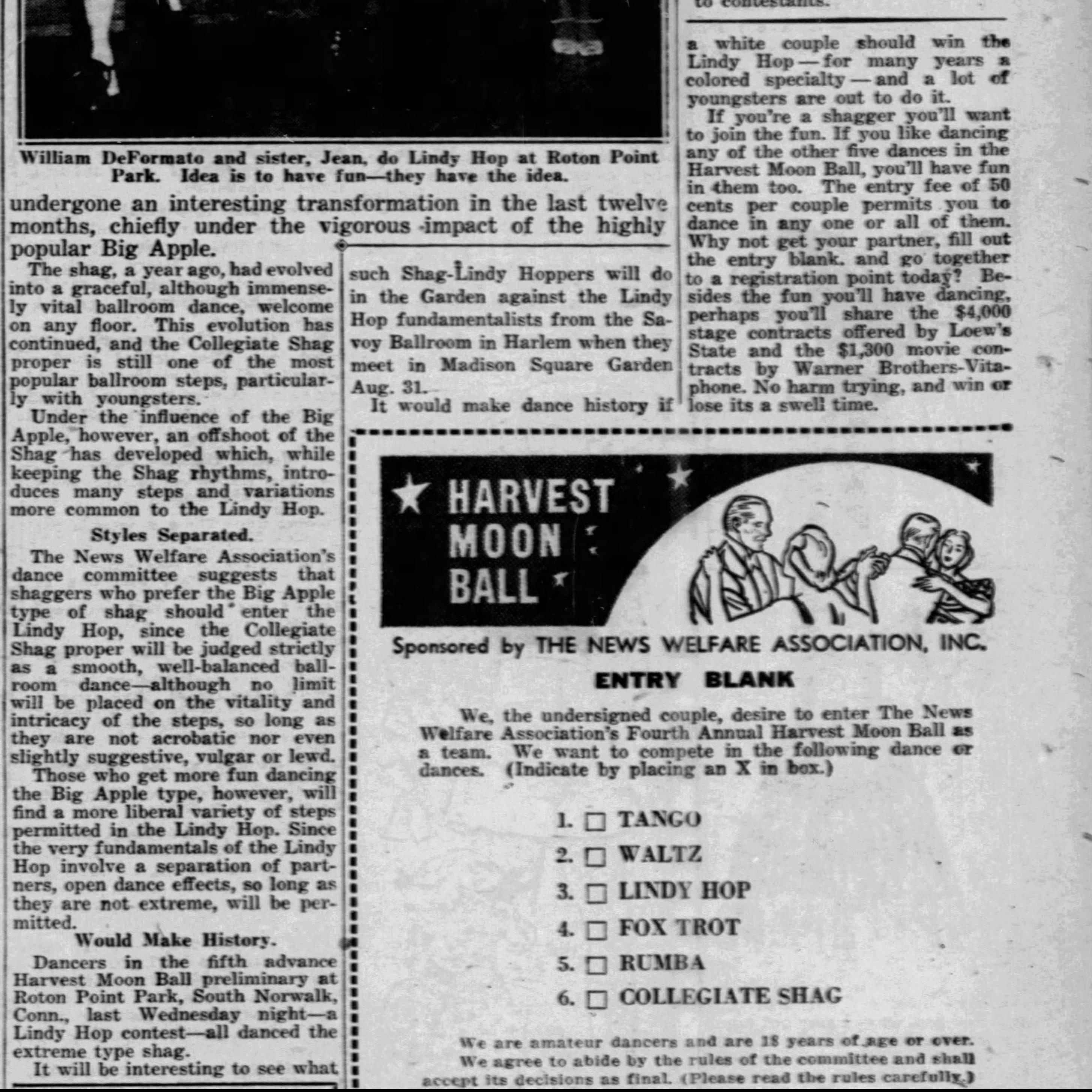 1938 BIG APPLE shag vs other shag Daily_News_Sat__Jul_23__1938_