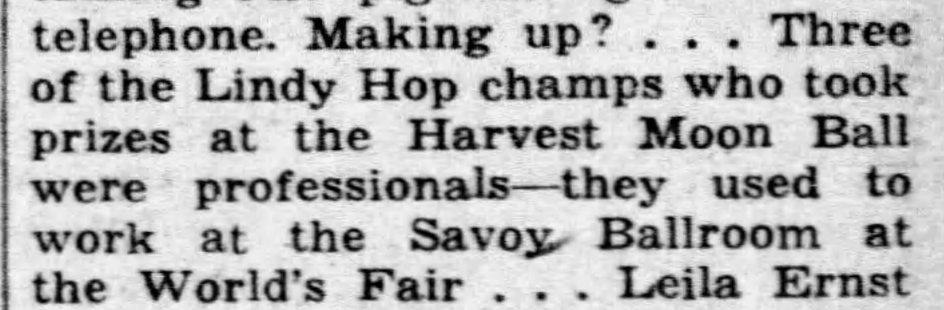 1940 Broadway column discovery lindy hop winners were PROS The_Miami_News_Fri__Sep_13__1940_