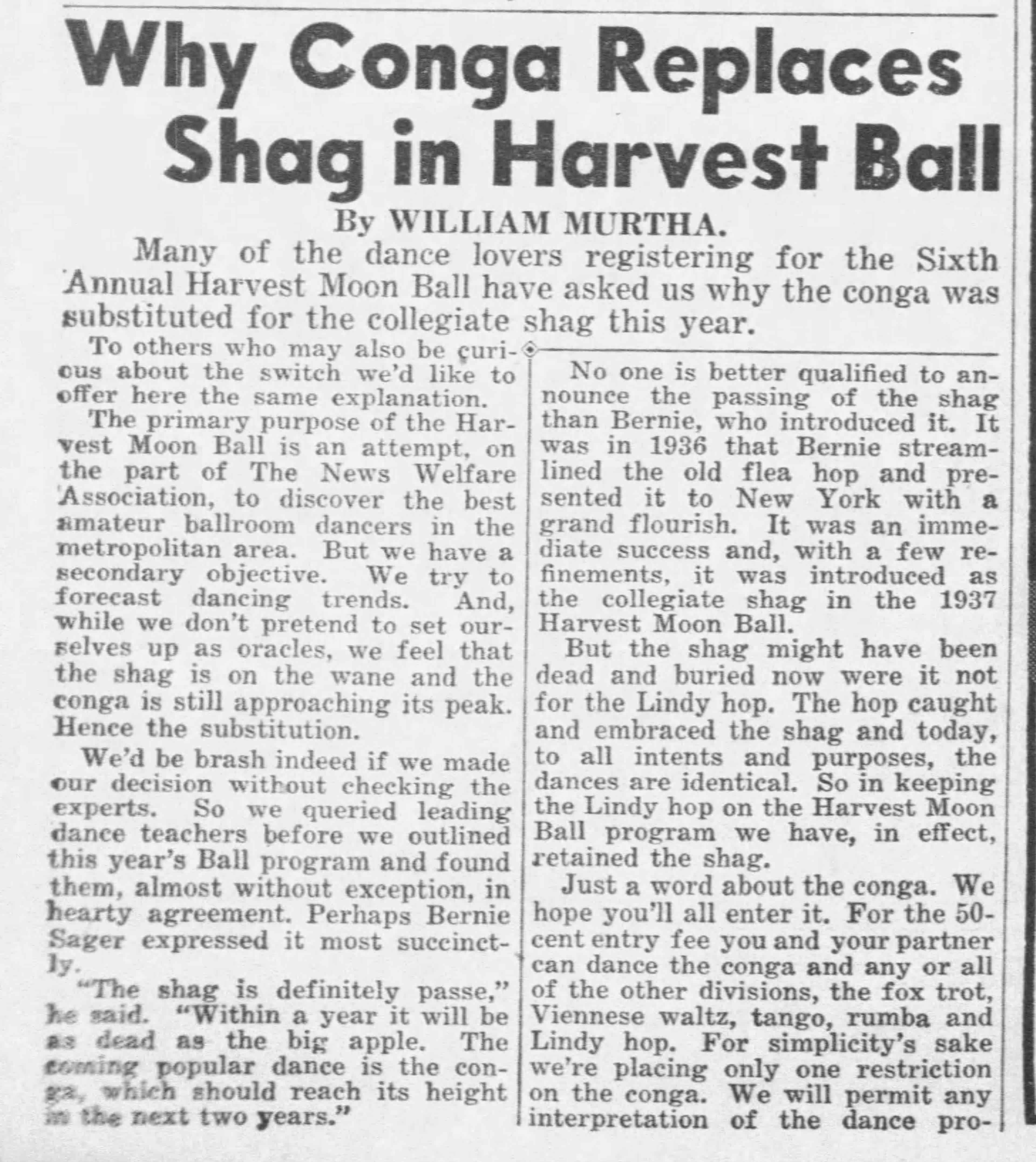 1940 rise of conga death of shag in HMB Daily_News_Fri__Jul_19__1940_