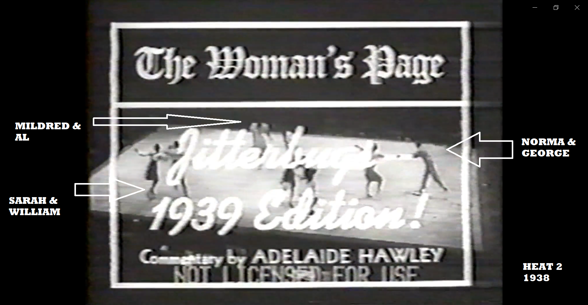 1939 HMB titale card 1938