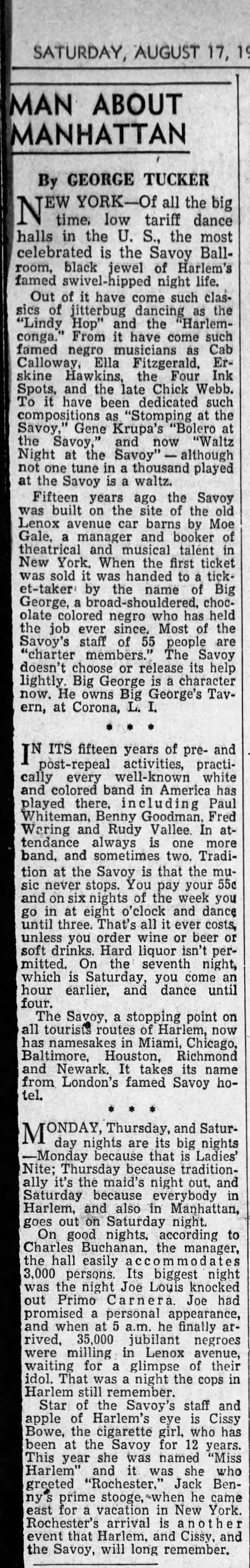 1940 column on Savoy Monrovia_Daily_News_Post_Sat__Aug_17__1940_